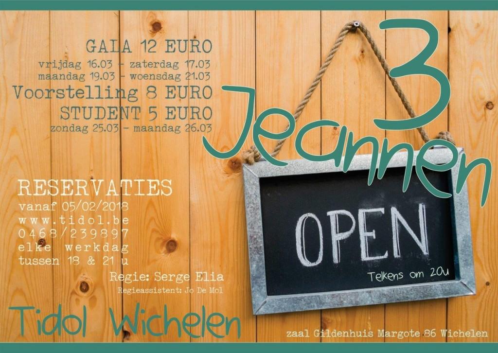 De 3 Jeannen Open